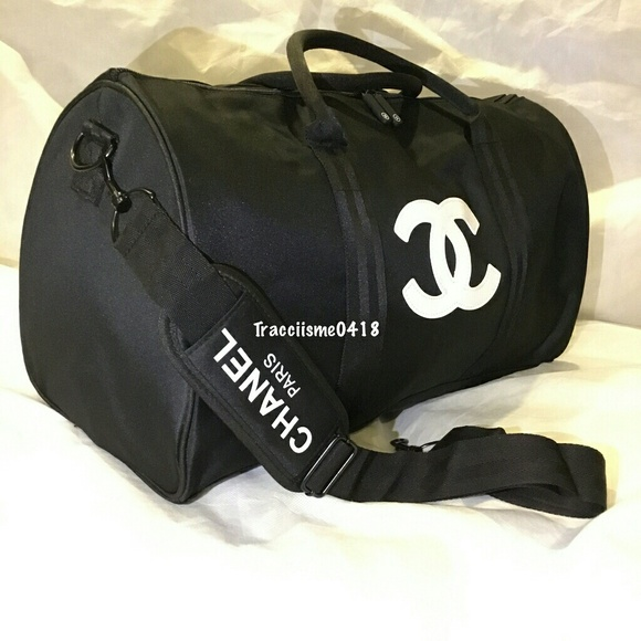 9a39872825ea CHANEL Other | Duffle Travel Gym Weekend Bag Vip Gift | Poshmark